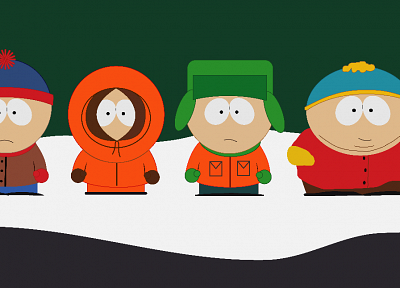South Park, Eric Cartman, Stan Marsh, Kenny McCormick, Kyle Broflovski - random desktop wallpaper