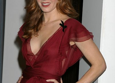 Amy Adams, red dress - random desktop wallpaper
