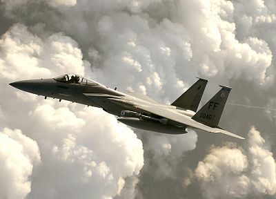 aircraft, F-15 Eagle - random desktop wallpaper