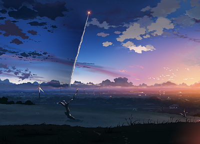 screenshots, Makoto Shinkai, 5 Centimeters Per Second - random desktop wallpaper