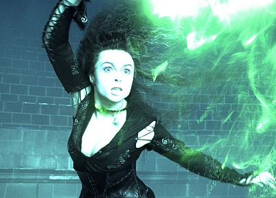 movies, actress, Harry Potter, Helena Bonham Carter, Harry Potter and the Order of the Phoenix, Bellatrix Lestrange, Death Eaters - desktop wallpaper