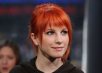 Hayley Williams, Paramore, women, music, redheads, celebrity, singers, faces - random desktop wallpaper