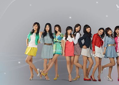 women, Girls Generation SNSD, celebrity, high heels, Seohyun, Korean, singers, Jessica Jung, Kim Taeyeon, Kwon Yuri, Im YoonA, Kim Hyoyeon, Choi Sooyoung, K-Pop, Lee Soon Kyu, Tiffany Hwang - desktop wallpaper