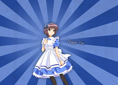 Nagato Yuki, The Melancholy of Haruhi Suzumiya - desktop wallpaper