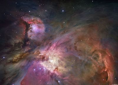 outer space, stars, galaxies, nebulae - desktop wallpaper