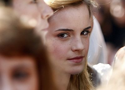 women, eyes, Emma Watson, actress - desktop wallpaper
