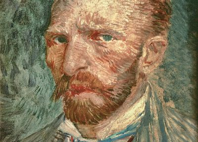 paintings, Vincent Van Gogh, artwork, self portrait - random desktop wallpaper