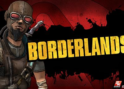 video games, Borderlands, Mordecai - desktop wallpaper
