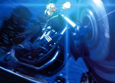 Type-Moon, vehicles, Saber, motorbikes, Fate/Zero, Fate series - related desktop wallpaper