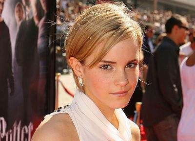 blondes, women, Emma Watson, actress, Harry Potter, faces - desktop wallpaper