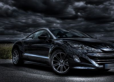 cars, Peugeot, vehicles, rcz, front angle view - related desktop wallpaper