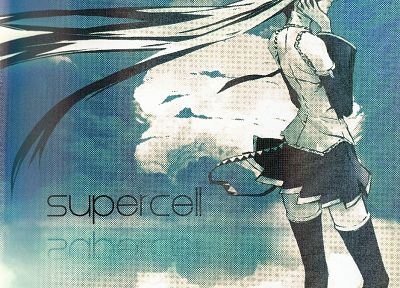 Vocaloid, Hatsune Miku, Supercell, album covers, detached sleeves - related desktop wallpaper