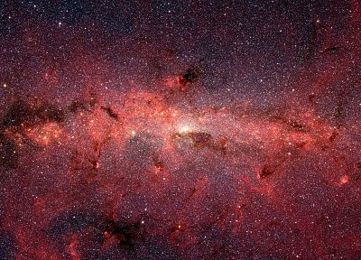 outer space, stars, nebulae, Milky Way - desktop wallpaper