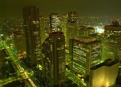 Japan, cityscapes, architecture, buildings - desktop wallpaper
