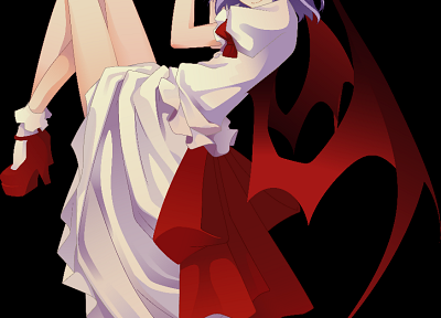 Touhou, Remilia Scarlet, Shingo (Missing Link) - desktop wallpaper