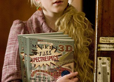 movies, Harry Potter, Harry Potter and the Half Blood Prince, Luna Lovegood, Evanna Lynch - random desktop wallpaper