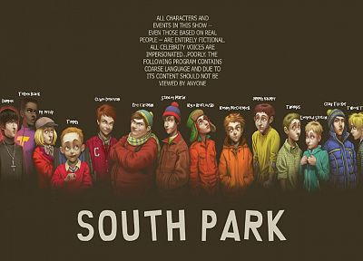 South Park, alternative art, soft shading, realism - random desktop wallpaper