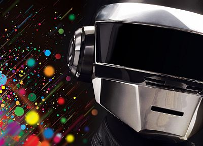 music, multicolor, Daft Punk - related desktop wallpaper