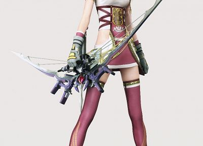 Final Fantasy, models, Final Fantasy XIII, Serah Farron, 3D girls, games - random desktop wallpaper