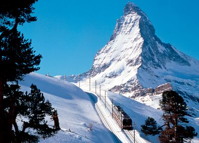 mountains, snow, snow landscapes, Matterhorn - random desktop wallpaper