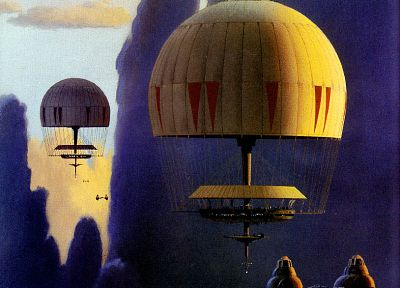 Star Wars, paintings, concept art, Bespin, Ralph McQuarrie - related desktop wallpaper