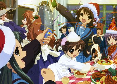 The Melancholy of Haruhi Suzumiya - random desktop wallpaper