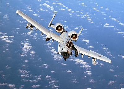 aircraft, military, vehicles, A-10 Thunderbolt II - related desktop wallpaper