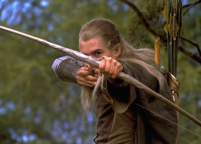 The Lord of the Rings, Orlando Bloom, Legolas - random desktop wallpaper
