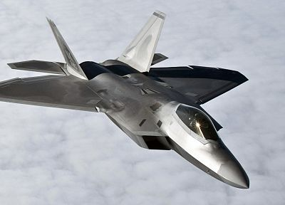 aircraft, military, F-22 Raptor - random desktop wallpaper