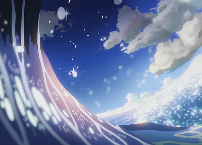 Makoto Shinkai, 5 Centimeters Per Second, artwork, anime - related desktop wallpaper