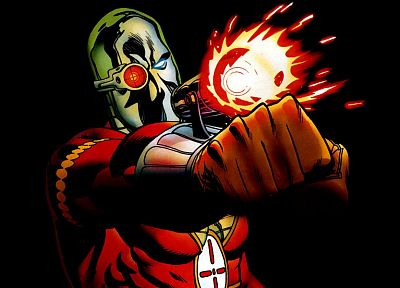 DC Comics, Deadshot - desktop wallpaper