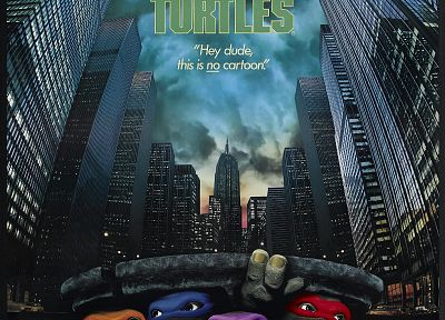 Teenage Mutant Ninja Turtles, movie posters - random desktop wallpaper