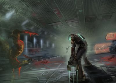 video games, Dead Space - random desktop wallpaper