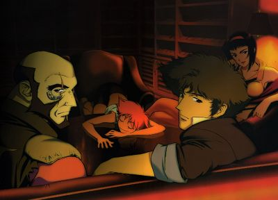 Cowboy Bebop, Spike Spiegel, cowboys - related desktop wallpaper