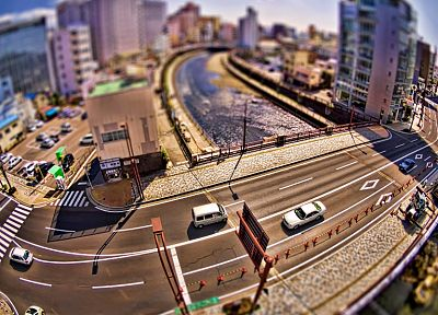 cityscapes, buildings, tilt-shift - related desktop wallpaper