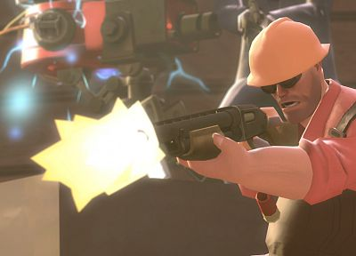 video games, Engineer TF2, Team Fortress 2 - random desktop wallpaper