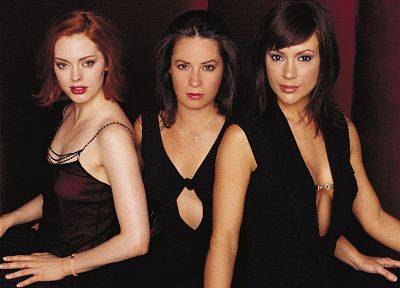 women, Alyssa Milano, Holly Marie Combs, Rose Mcgowan - random desktop wallpaper