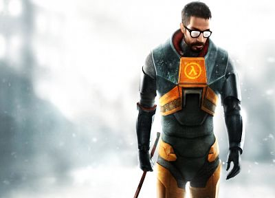 Half-Life, Gordon Freeman - related desktop wallpaper
