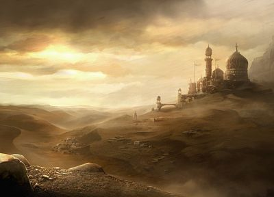 landscapes, Prince of Persia - random desktop wallpaper