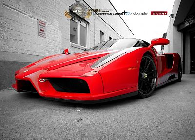 cars, Ferrari Enzo - random desktop wallpaper