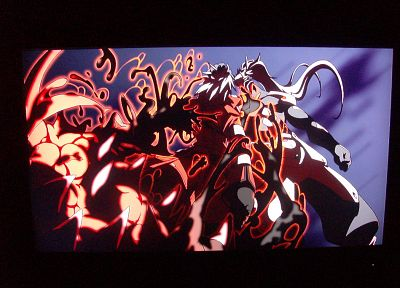 Blazblue, Hakumen, Ragna the Blood Edge - random desktop wallpaper