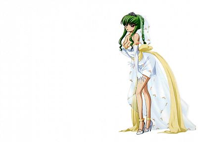 gloves, Code Geass, brides, C.C., simple background - desktop wallpaper