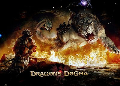 fantasy, adventure, Dragons Dogma - random desktop wallpaper