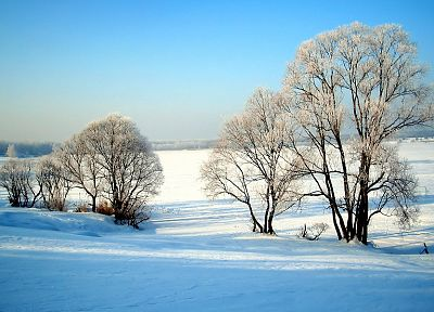 landscapes, winter, snow - desktop wallpaper