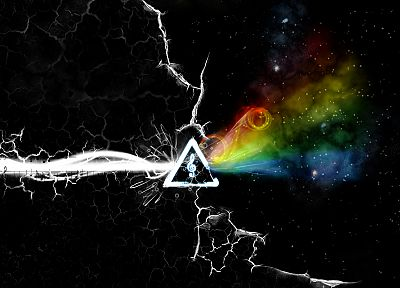 outer space, music, Pink Floyd, rock and roll - desktop wallpaper