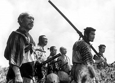 Japanese, Seven Samurai - random desktop wallpaper