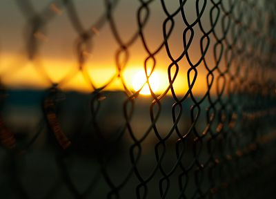 fences, chain link fence - random desktop wallpaper