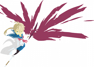 Soul Eater, school uniforms, Albarn Maka, simple background - related desktop wallpaper