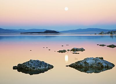 nature, rocks, California, lakes, Mono Lake - related desktop wallpaper