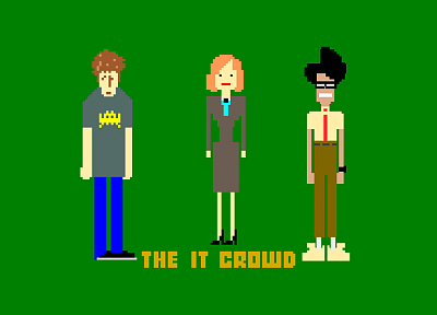 TV, The IT Crowd - desktop wallpaper